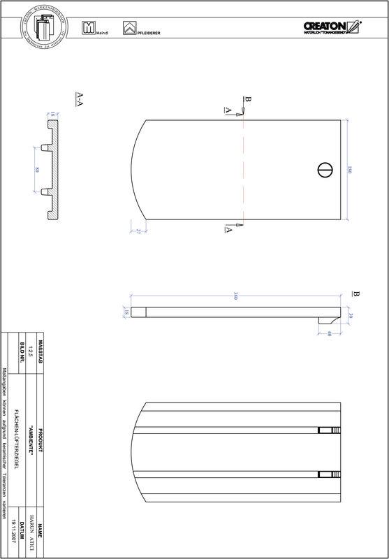Produkt CAD-Datei AMBIENTE Segmentschnitt SEG-FLUEFTZ