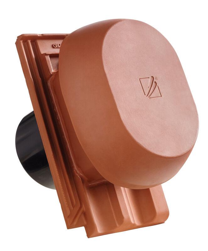 RAT HÖN SIGNUM keramischer Wrasenlüfter DN 200 mm inkl. Unterdachanschlussadapter