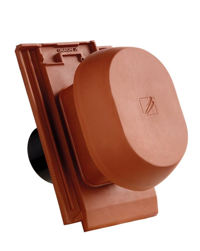 MIK SIGNUM keramischer Wrasenlüfter DN 150/160 mm inkl. Unterdachanschlussadapter