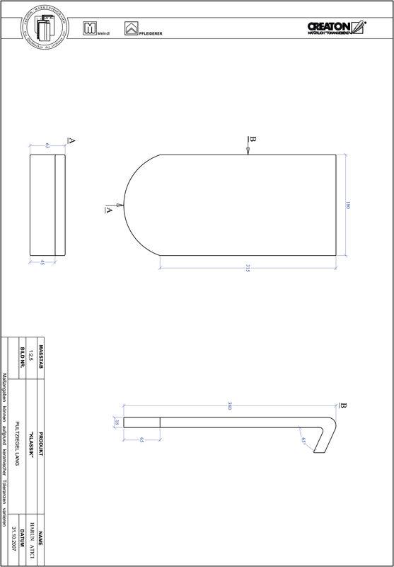 Produkt CAD-Datei KLASSIK Rundschnitt RUND-PULT-lang1