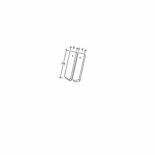 Produkt technische Zeichnung AMBIENTE Seg-Laengshalber