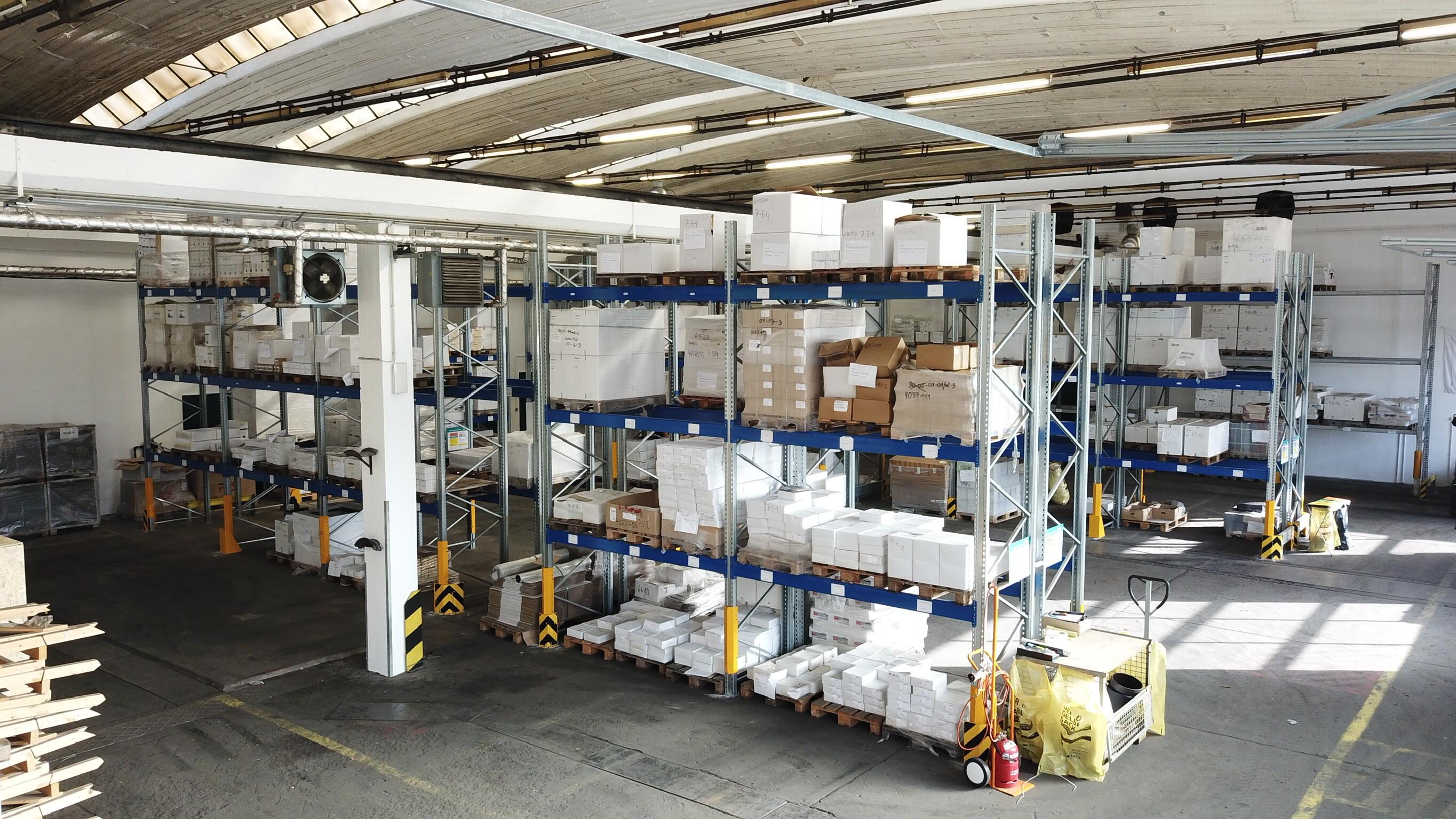 Das neue Lager ermöglicht eine noch höhere Warenverfügbarkeit.