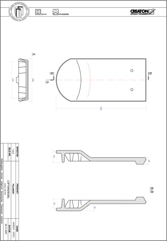 Produkt CAD-Datei KLASSIK Rundschnitt RUND-LUEFTZ