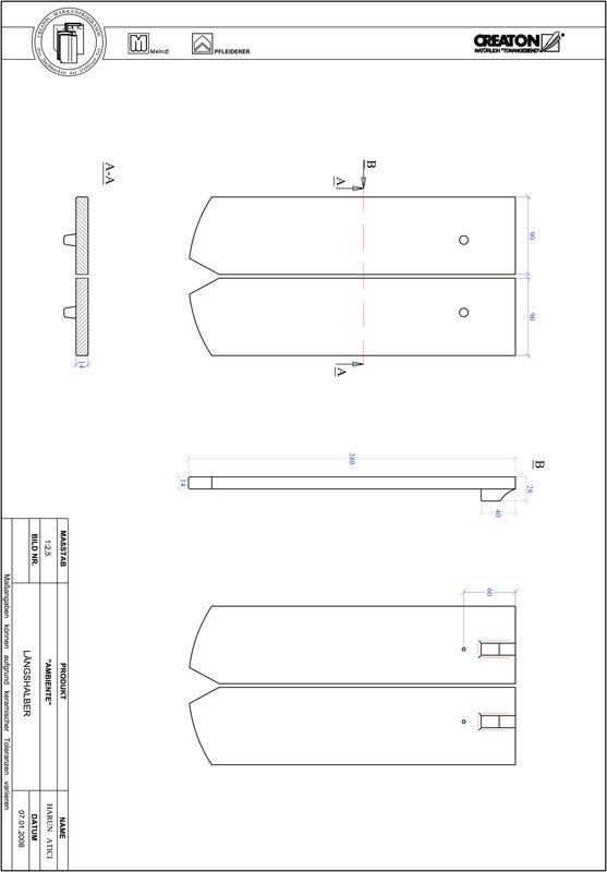 Produkt CAD-Datei AMBIENTE Segmentschnitt SEG-LH
