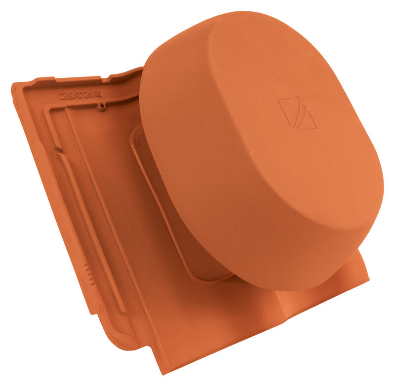 HAR SIGNUM keramischer Wrasenlüfter DN 200 mm inkl. Unterdachanschlussadapter