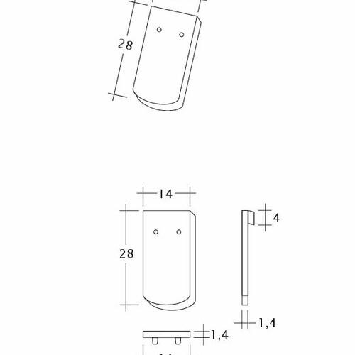 Produkt technische Zeichnung MANUFAKTUR TUBI-1-1