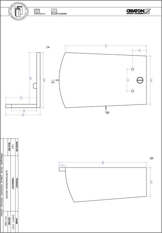 Produkt CAD-Datei AMBIENTE Segmentschnitt SEG-OGR-1-1-4