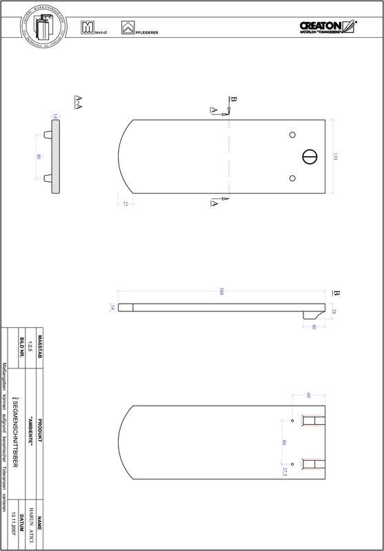 Produkt CAD-Datei AMBIENTE Segmentschnitt SEG-3-4