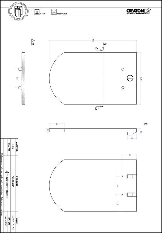 Produkt CAD-Datei KLASSIK Rundschnitt RUND-1-1-4