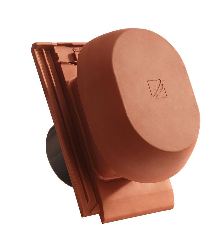 MIK SIGNUM keramischer Wrasenlüfter DN 200 mm inkl. Unterdachanschlussadapter
