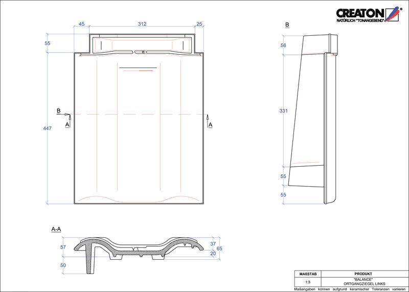 Produkt CAD-Datei BALANCE Ortgang links OGL
