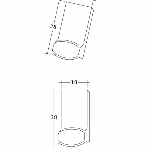 Produkt technische Zeichnung AMBIENTE Seg-LUEFTZ