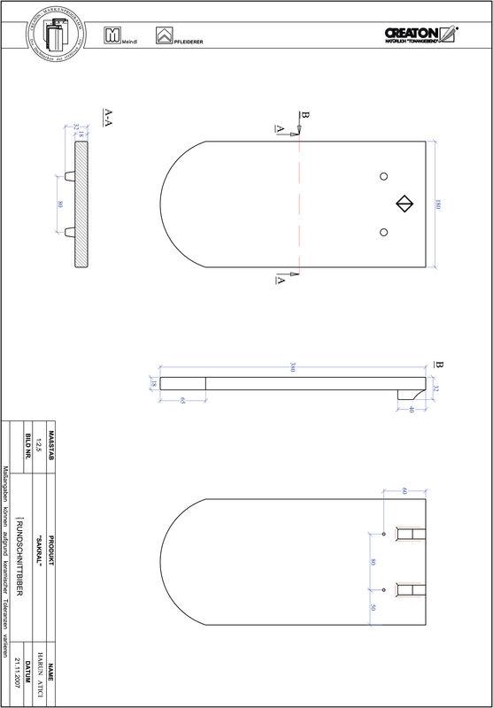 Produkt CAD-Datei SAKRAL Rundschnitt RUND-1-1