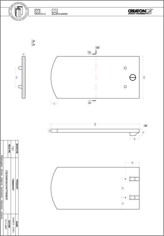 Produkt CAD-Datei AMBIENTE Segmentschnitt SEG-1-1