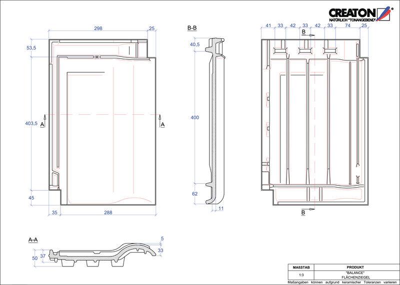 Produkt CAD-Datei BALANCE Fläche FLA