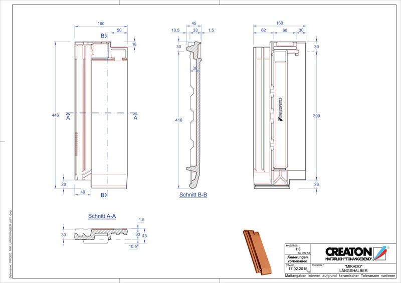 Produkt CAD-Datei MIKADO Längshalber LH