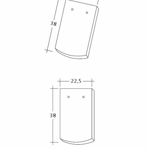 Produkt technische Zeichnung AMBIENTE Seg-1-1-4
