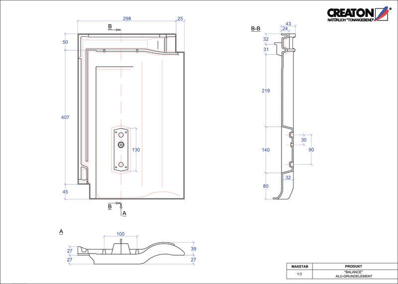Produkt CAD-Datei BALANCE Grundalu GRUNDALU