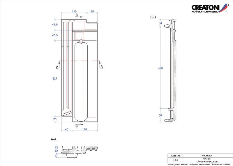 Produkt CAD-Datei RATIO Längshalber LH